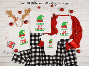 Elf Squad Christmas Group Shirt Collection