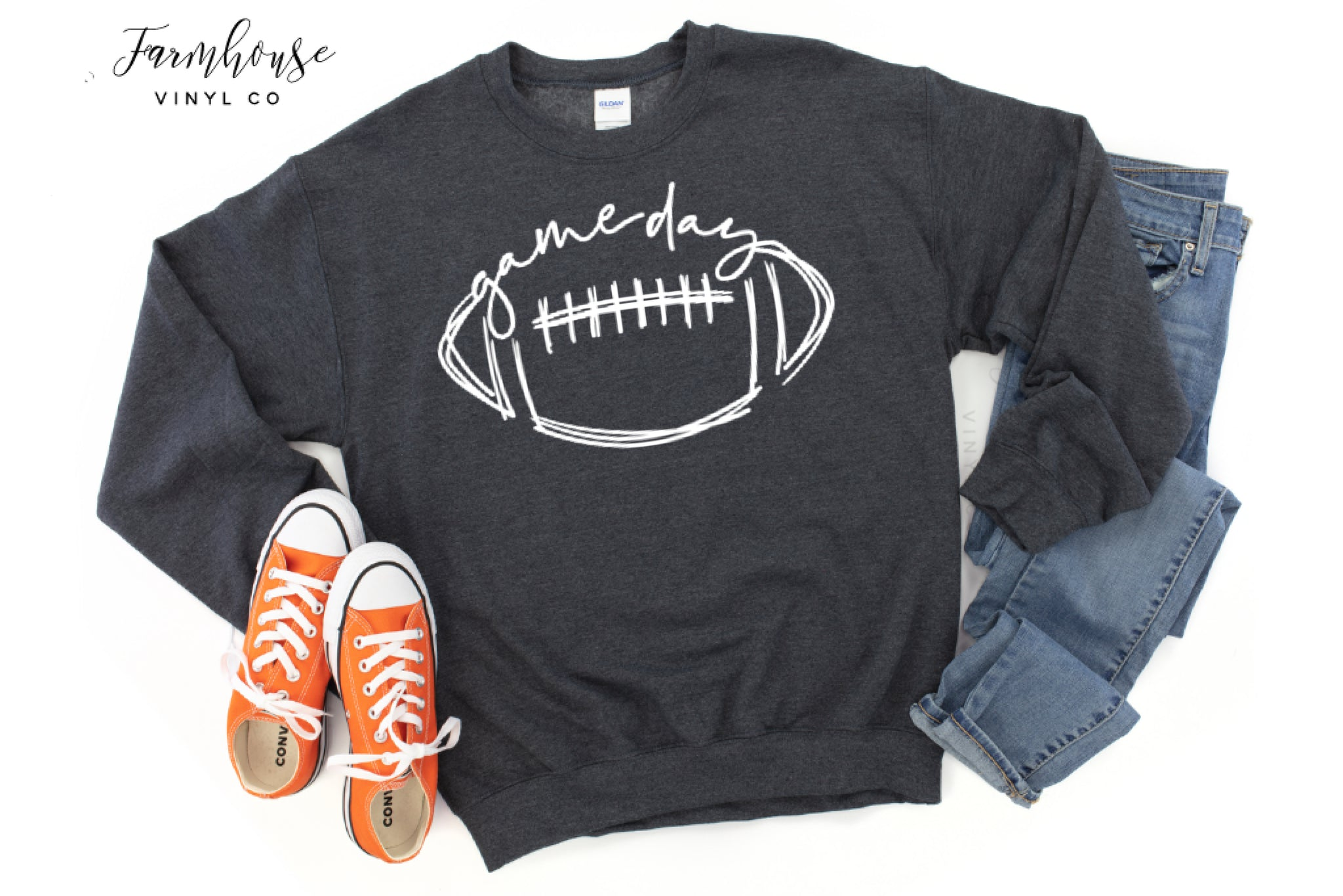 Football Gameday Unisex Gildan Sweatshirt