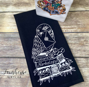 Harry Potter Hedwig Cotton Towel