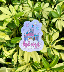 Disney Castle Home Sticker