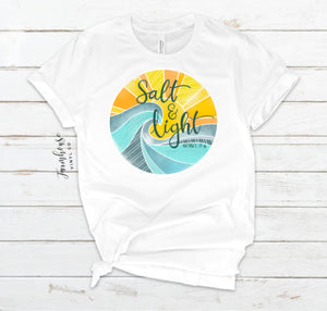 Salt and Life Matthew 5:13-16 Unisex T-Shirt