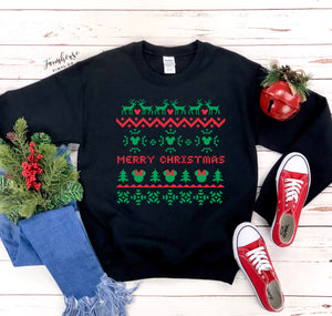 Disney Merry Christmas Unisex Ugly Christmas Clothing Collection
