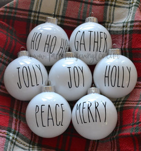 Best Selling Farmhouse Rae Dunn Ornament Decals