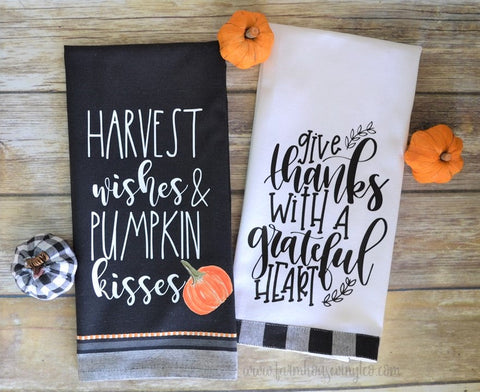 Farmhouse Autumn and Fall Towels