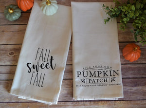 Farmhouse Fall Towels