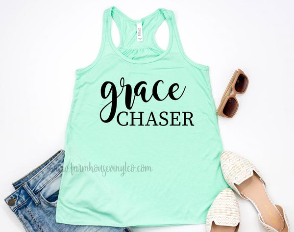 Women's Grace Chaser Bella and Canvas Flowy Racerback Tank