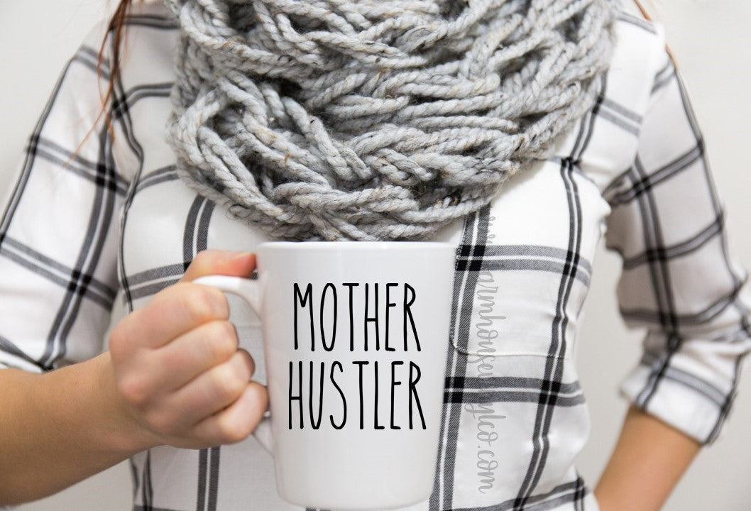 Rae Dunn Inspired Mother Hustler Vinyl Decal
