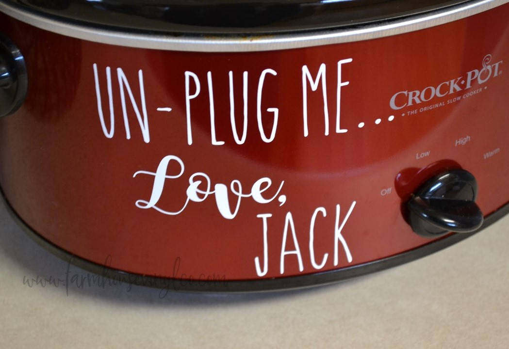 This Is Us Inspired Crockpot Decal