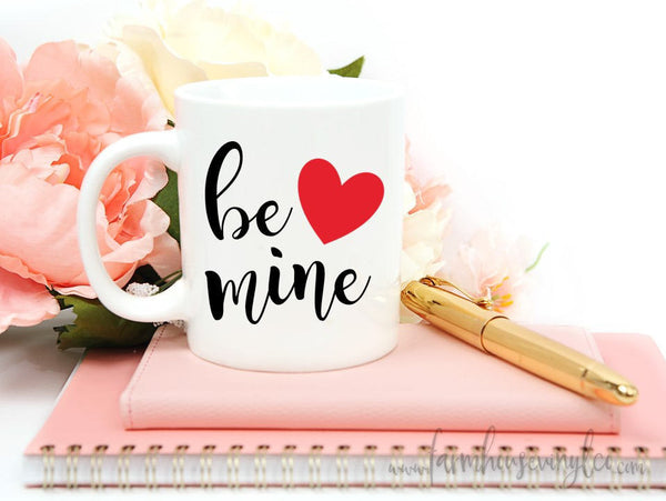 Rae Dunn Inspired Valentine's Day Mug Vinyl Decals