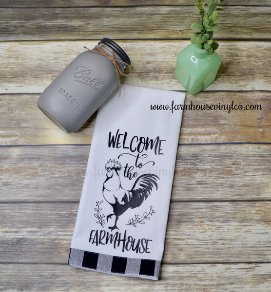 Welcome to The Farmhouse Tea Towel