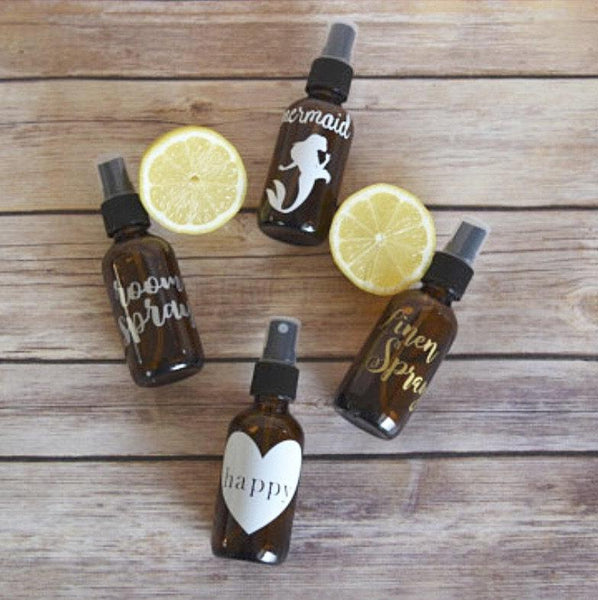 Essential Oil 2oz Spray Labels