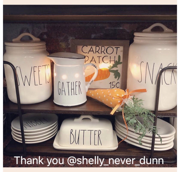 Rae Dunn Inspired Scentsy Warmer Vinyl Decal