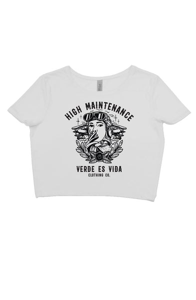 High Maintance Crop Top