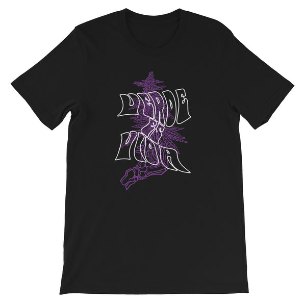 Hazed Purple Tee