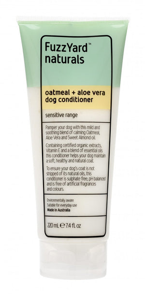Sensitive Dog Conditioner Oatmeal + Aloe Vera 220ml