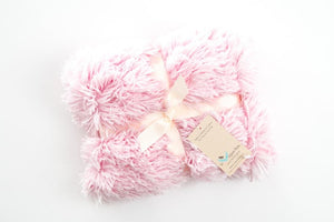 Shaggy Baby Pink Blanket
