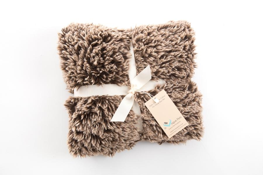 Shaggy Brown Frost Blanket