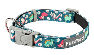 Dinosaur Land Dog Collar