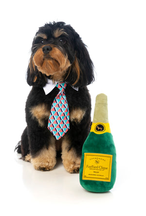 Champagne Dog Toy