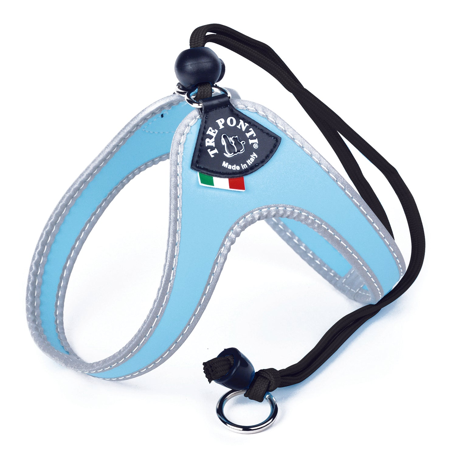 Easy Fit Classic Light Blue Harness with Adjustable Strap  Closure