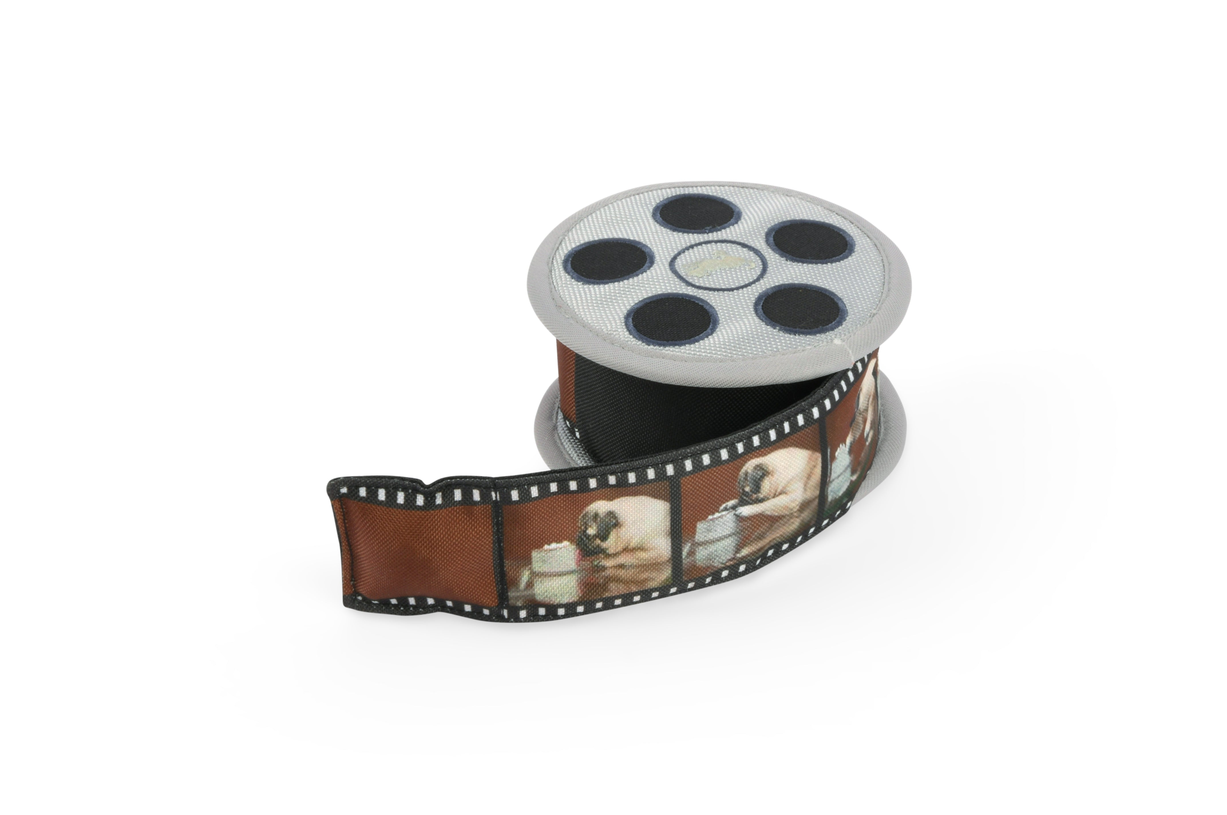 Hollywoof Movie Reel Dog Toy