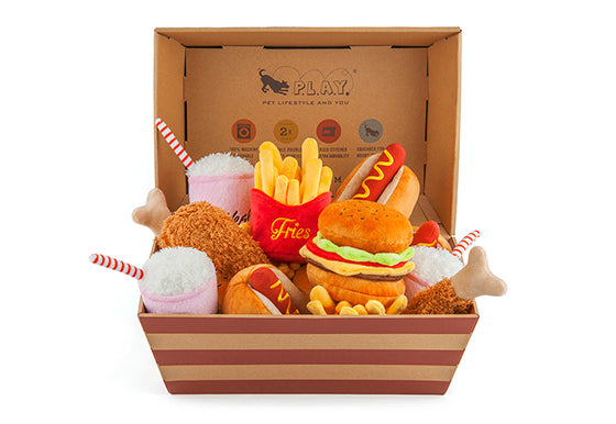 American Classic Foods Set Of 5 x 3 Toys in POS Box