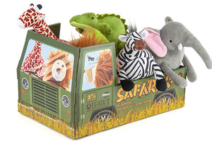 Safari Toy Collection 5 x 2 Toys