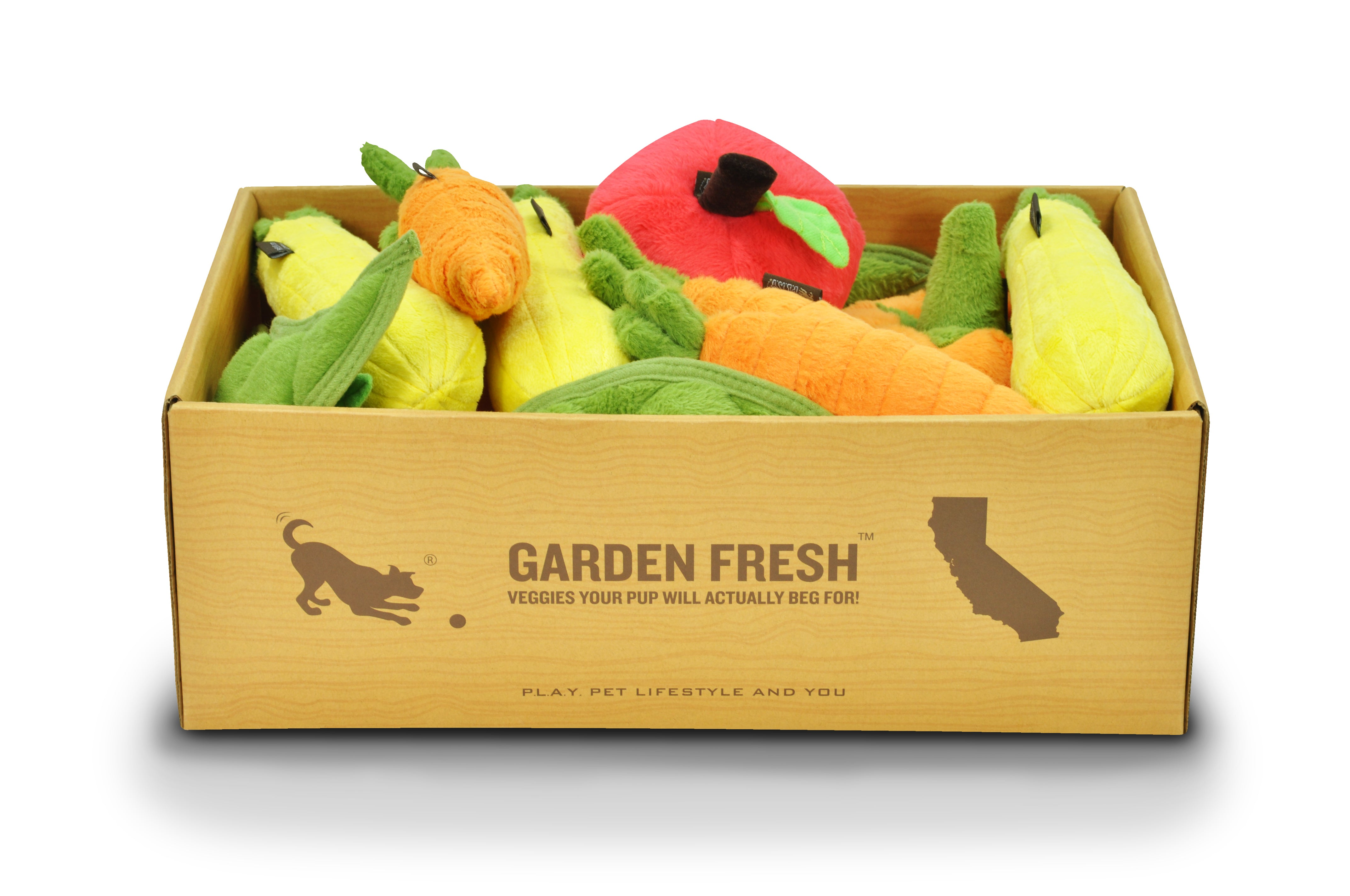 Garden Fresh Set Of 5 x 3 Toys in POS Crate