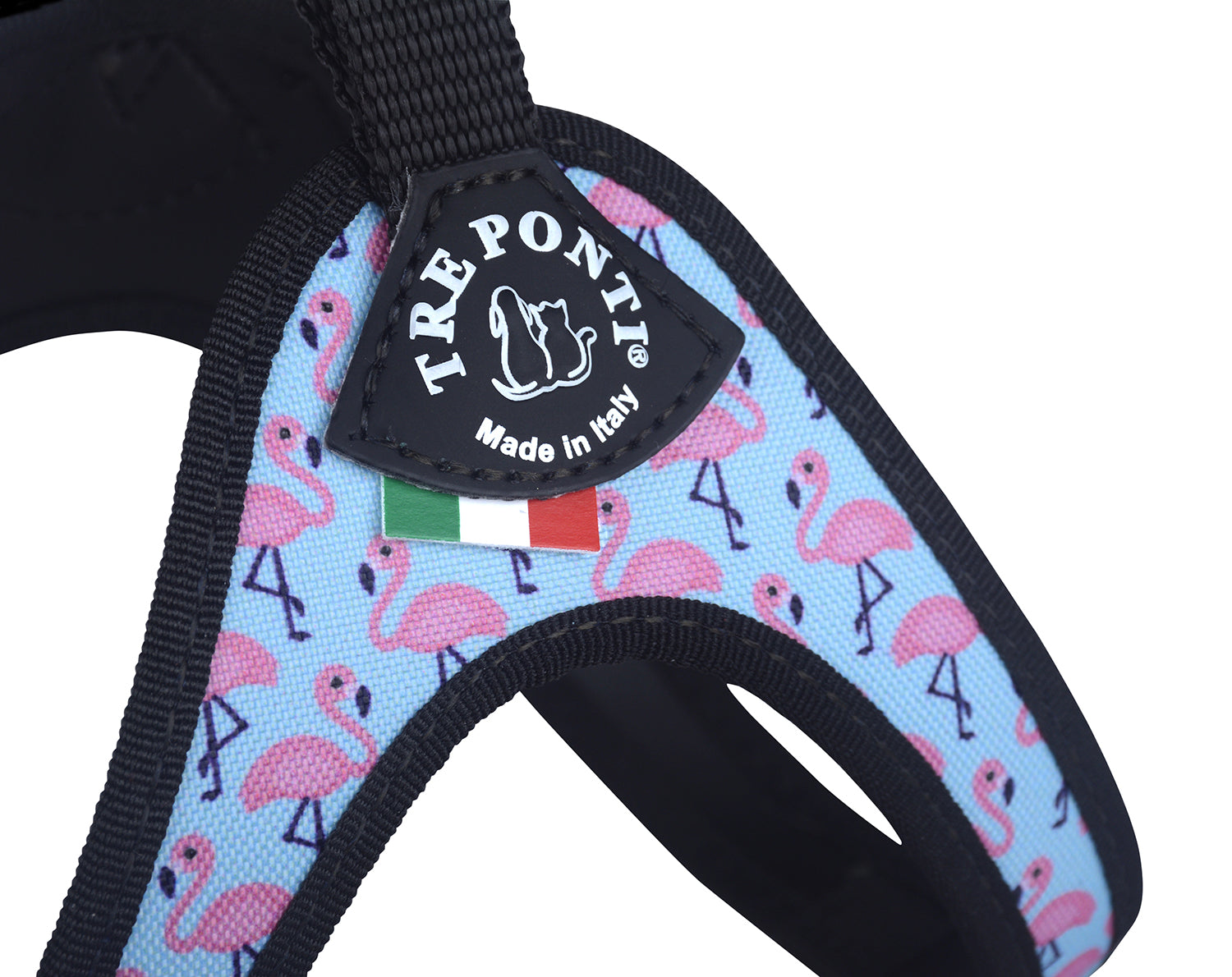 Easy Fit Classic Flamingo Harness with Adjustable Girth