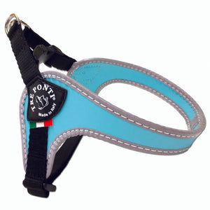 Easy Fit Classic Light Blue Harness with Adjustable Girth