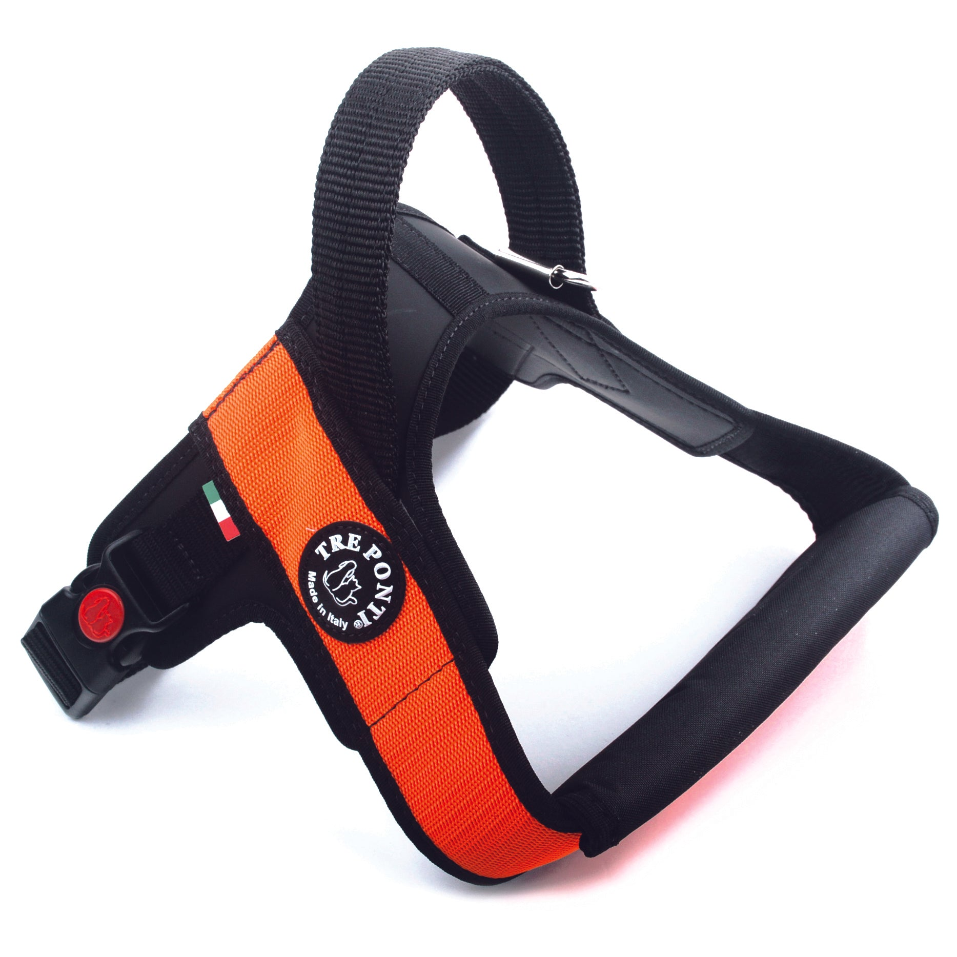 Primo Plus Harness with Handle Orange