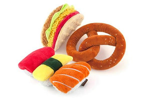 Pretzel Plush Dog Toy