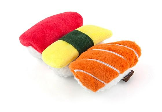 Sushi Plush Dog Toy