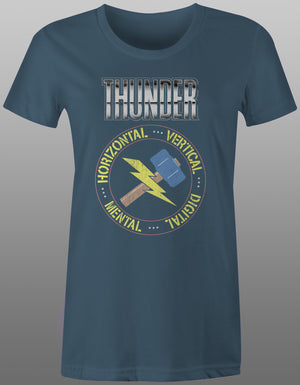 1989 Thunder Channel Tee - Ladies