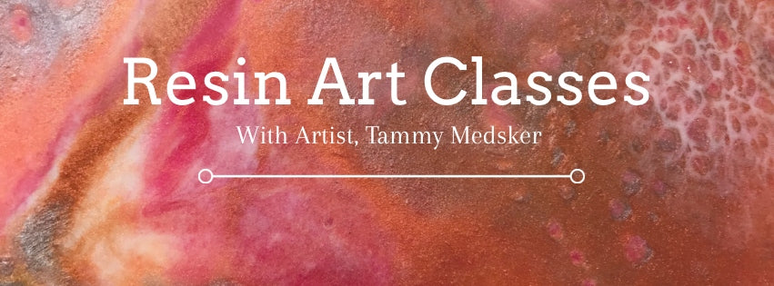 Create Resin Art With Me! Resin Classes in my Colorado Home