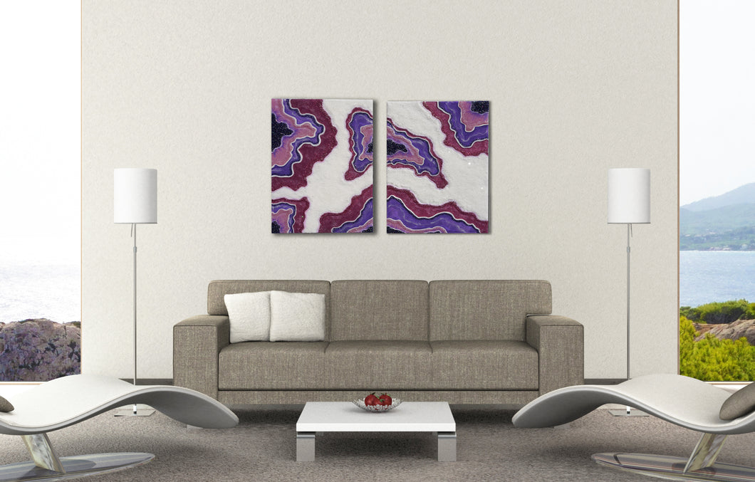 "SOLD-""Amethyst Dreams"