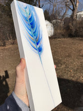 "SOLD ""Bluebird Song"" Spirit Feather Series"