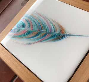 "Sold ""Floating Softly"" Spirit Feather Series"