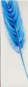 "SOLD - Spirit Feather, ""Winters Blue"""