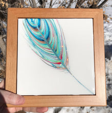 "SOLD ""Lifted In Light"" - Spirit Feather Series"