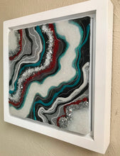 "SOLD- ""Navajo Dreams"" Original Resin, Mixed Media Geode Artwork"