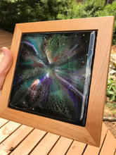 "SOLD- Currently on display at Grace Gallery ""Solar Sails"" Original Resin Painting, Inspired by the Cosmos"