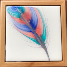 Sold- Spirit Feather Dream Box - Original Art Piece