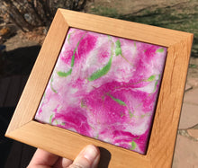 """Spring Bloom"" Original Mini Resin Abstract Painting"