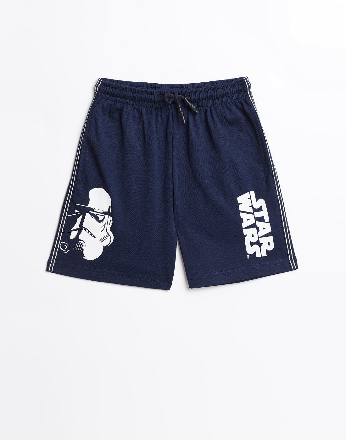 Ooctave Boys Indigo Blue STAR WARS Printed Shorts