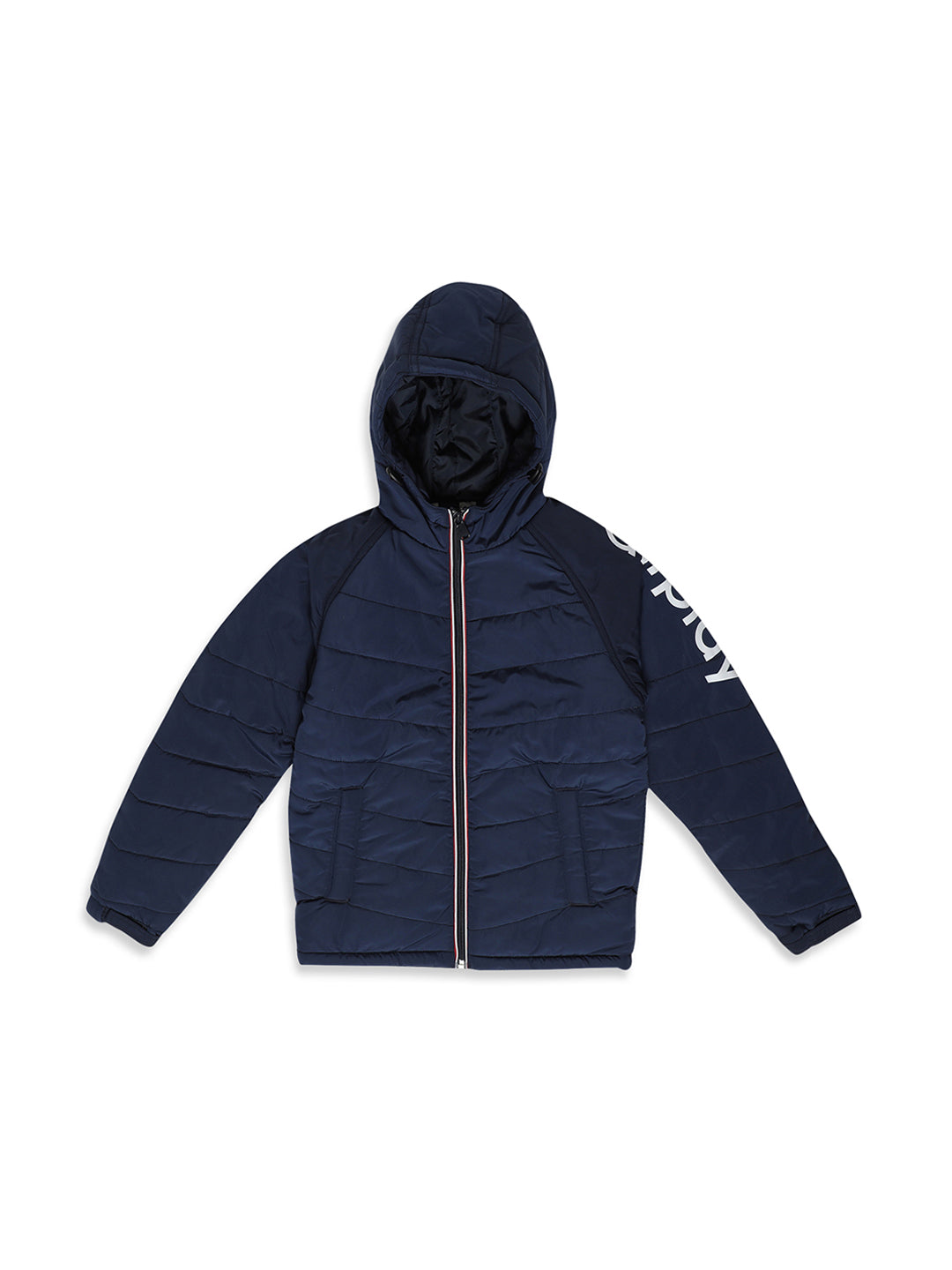 Octave Apparels Navy Hoodie Jacket for Kids