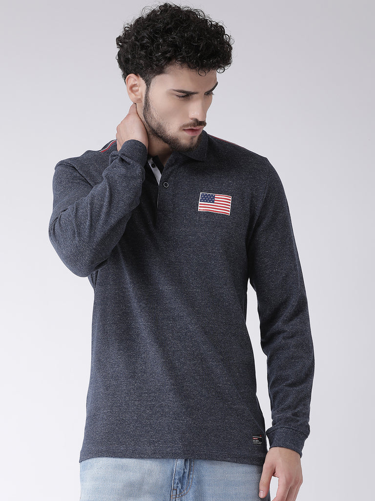 Octave Apparels Dark Grey T-shirt for Men