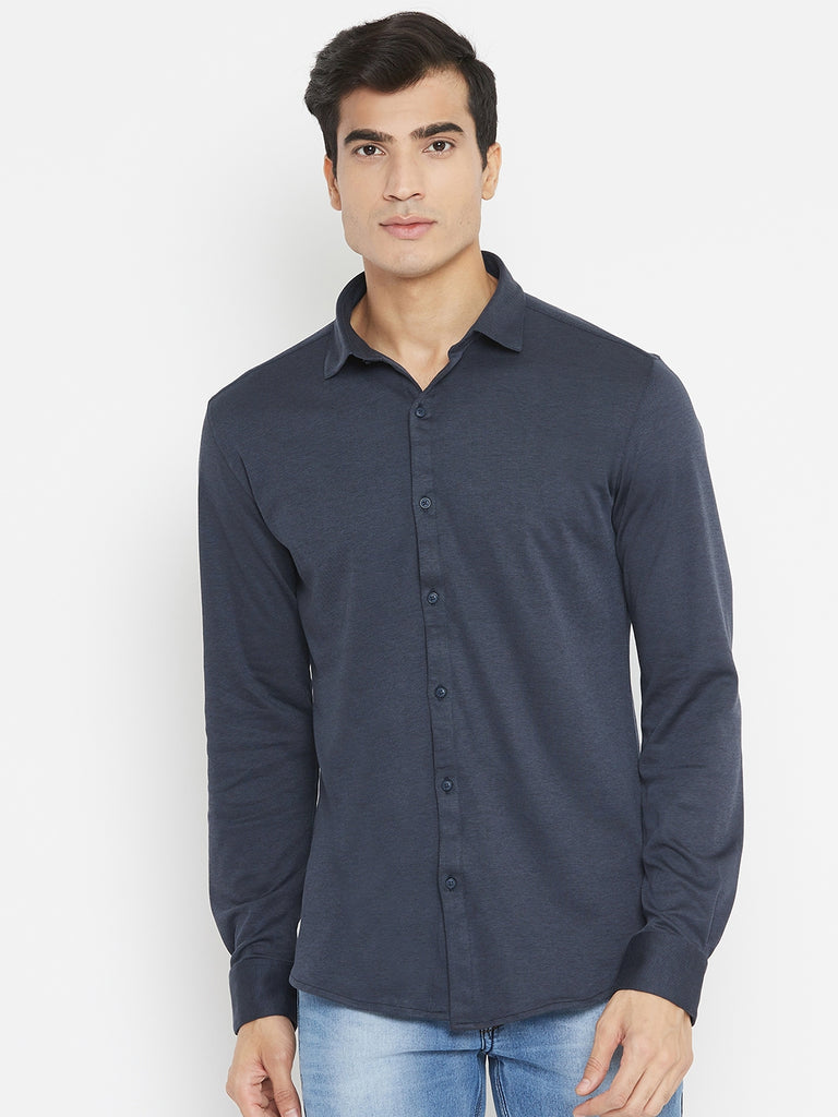 Octave black color shirt for men