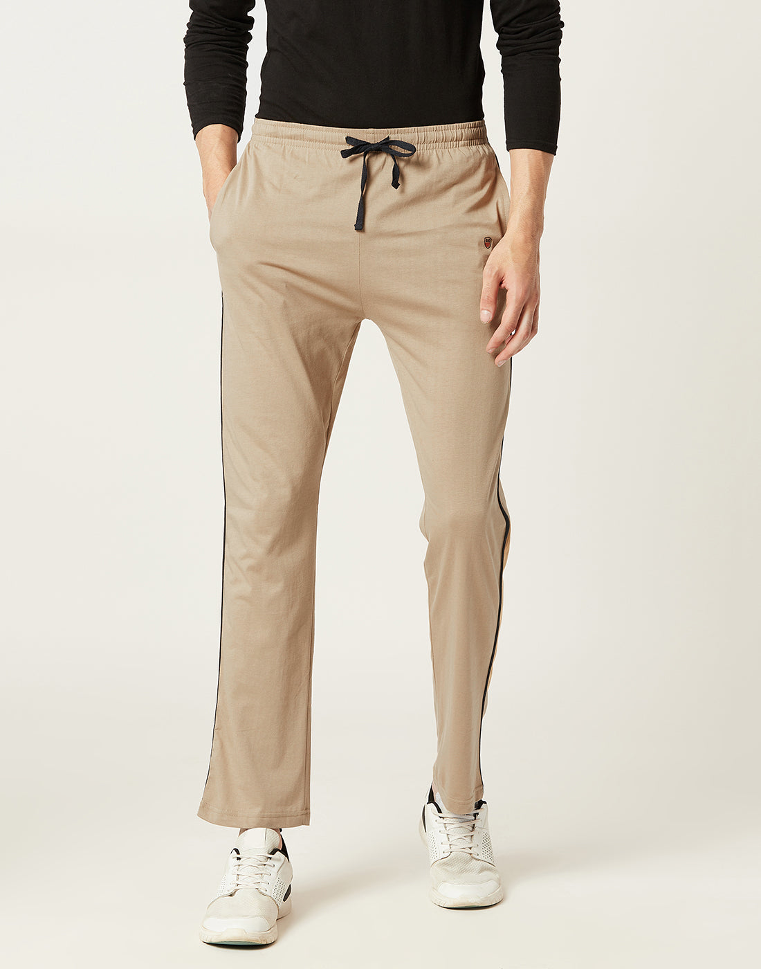 Octave Men Khaki Trackpants