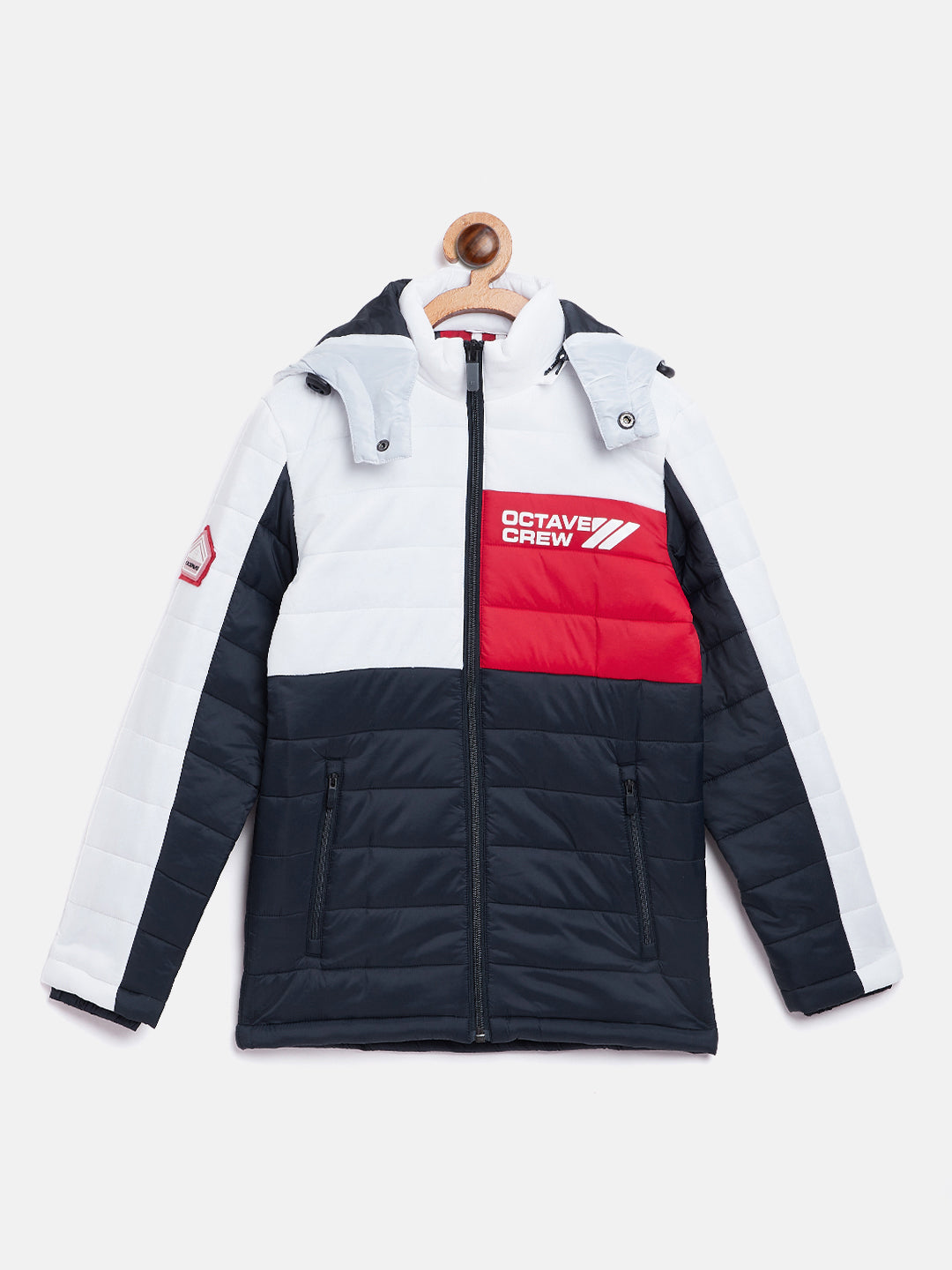 Octave Apparels White Jacket for Kids